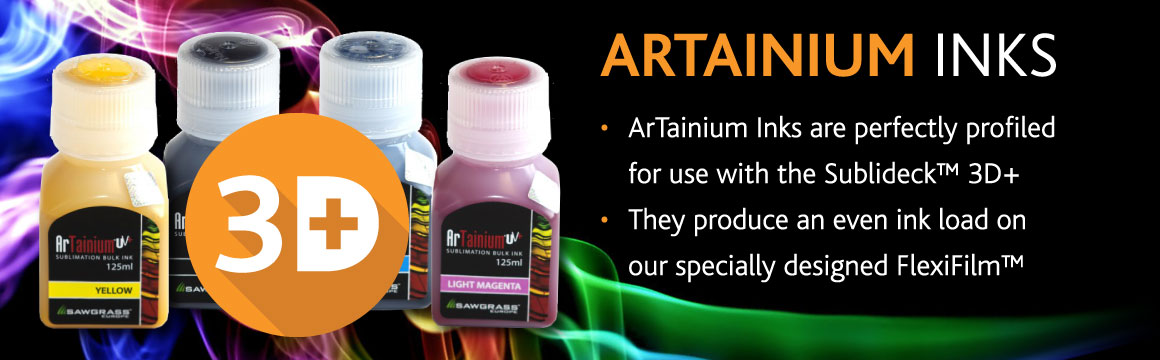 ArTainium Inks by Sublideck™
