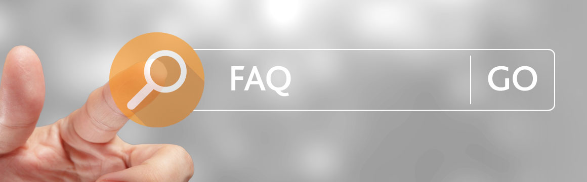 faq page header