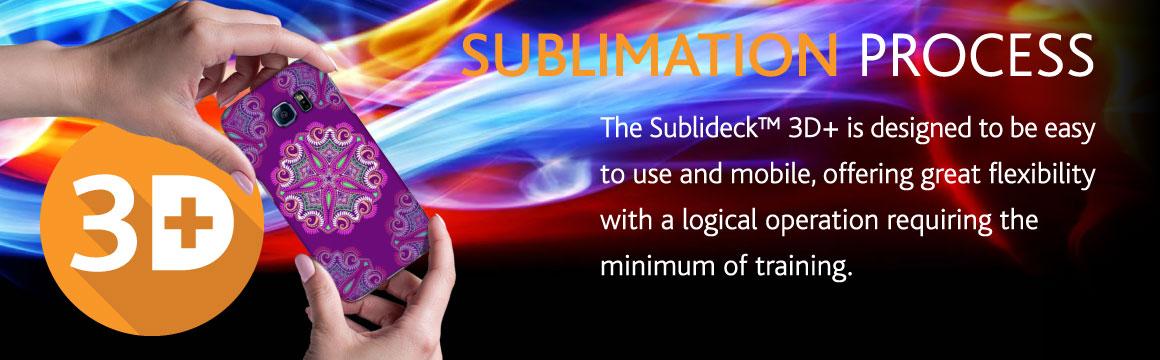 Sublideck™ 3D  Phone Press